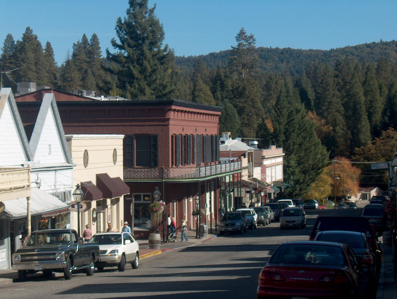 Broad St Cafe Nevada City Ca